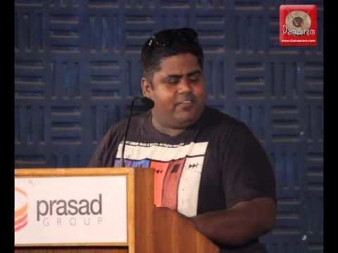 Gopi Amarnath Cinematographer Gopi Amarnath at Enakkul Oruvan Press Meet YouTube