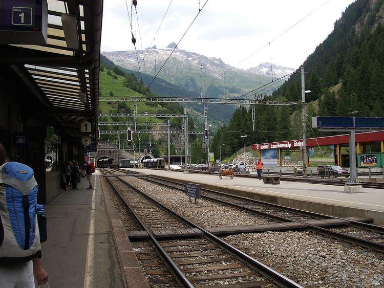 Goppenstein railway station