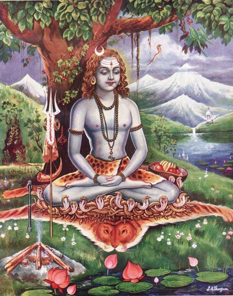 Gorakshanath Hindu Cosmos Yogi Gorakhnath in samadhi Gorakshanath also