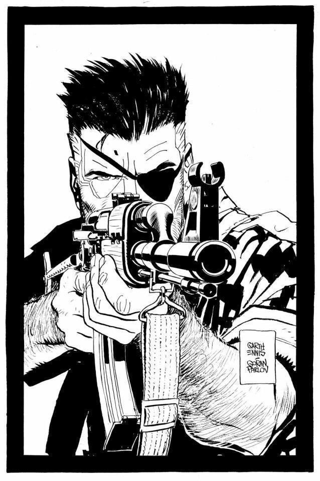 Goran Parlov The way I like comics Nick Fury Goran Parlov