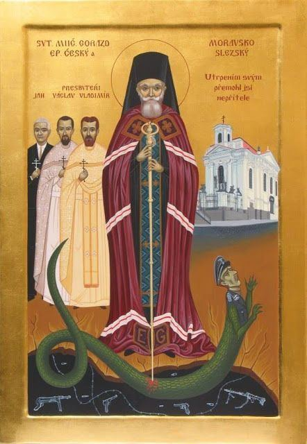 Gorazd (Pavlík) St Gorazd of Prague Whispers of an Immortalist Icons of Martyrs