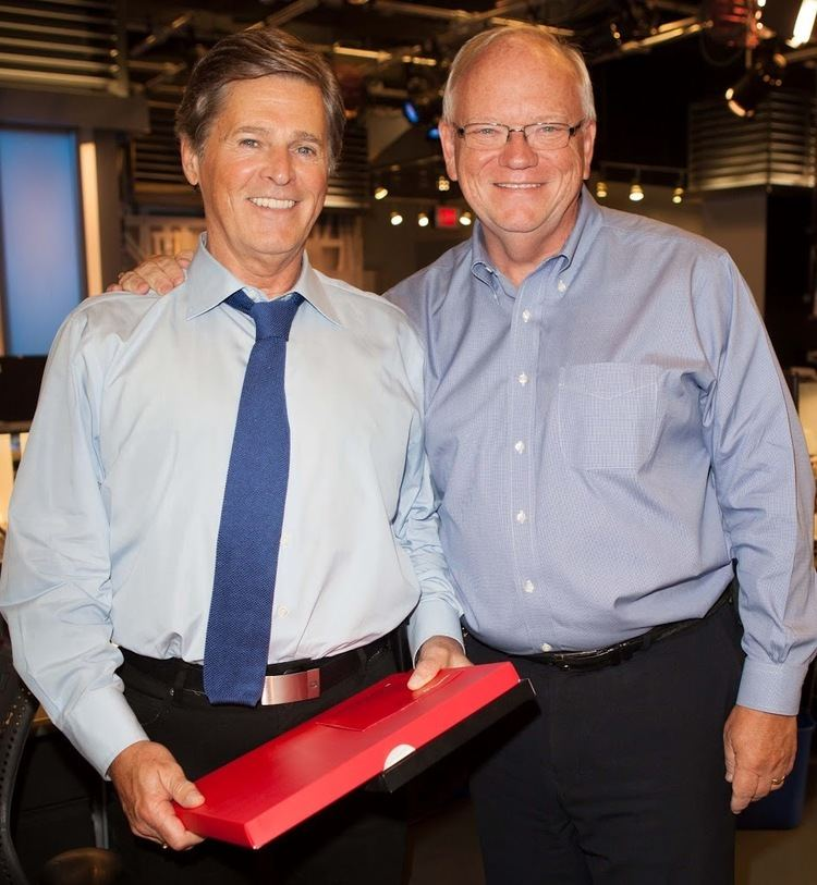 Gord Martineau Gord Martineau celebrates 35 years at City while Christine