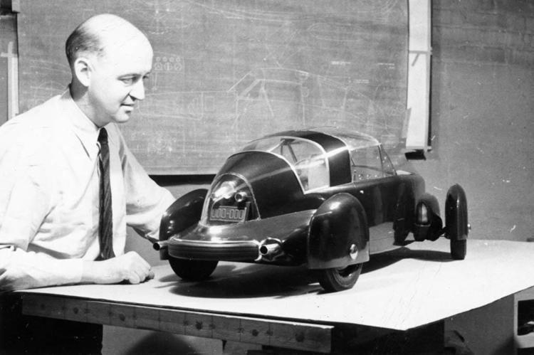 Gordon Buehrig Tasco Prototype by Gordon Buehrig 1948 Part Plane Part