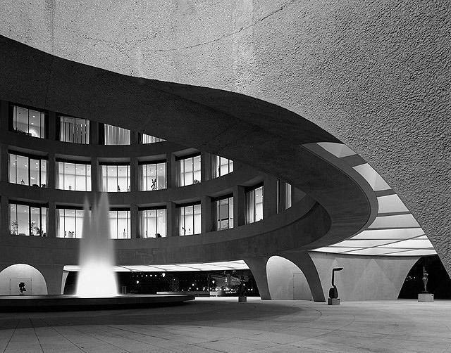 Gordon Bunshaft plusarchitekt Hirshhorn Museum Sculpture Garden in Washington