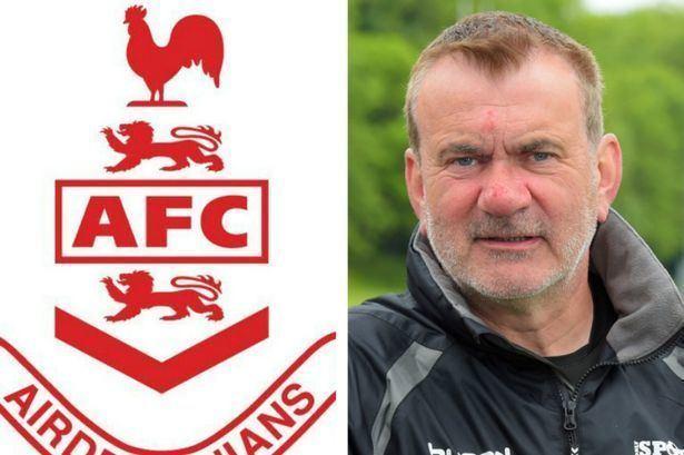 Gordon Dalziel Director of football Gordon Dalziel hopes for appointment at Airdrie