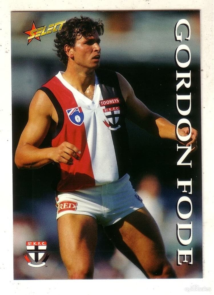 Gordon Fode AFL SELECT 1995 SERIES TWO ST KILDA GORDON FODE