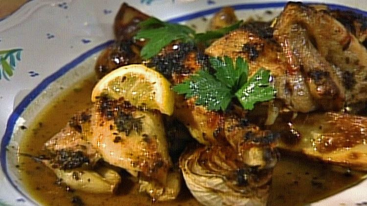 Gordon Hamersley Roast Chicken with Garlic and Lemon with Gordon Hamersley In
