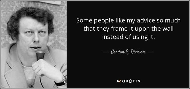 Gordon R. Dickson TOP 5 QUOTES BY GORDON R DICKSON AZ Quotes