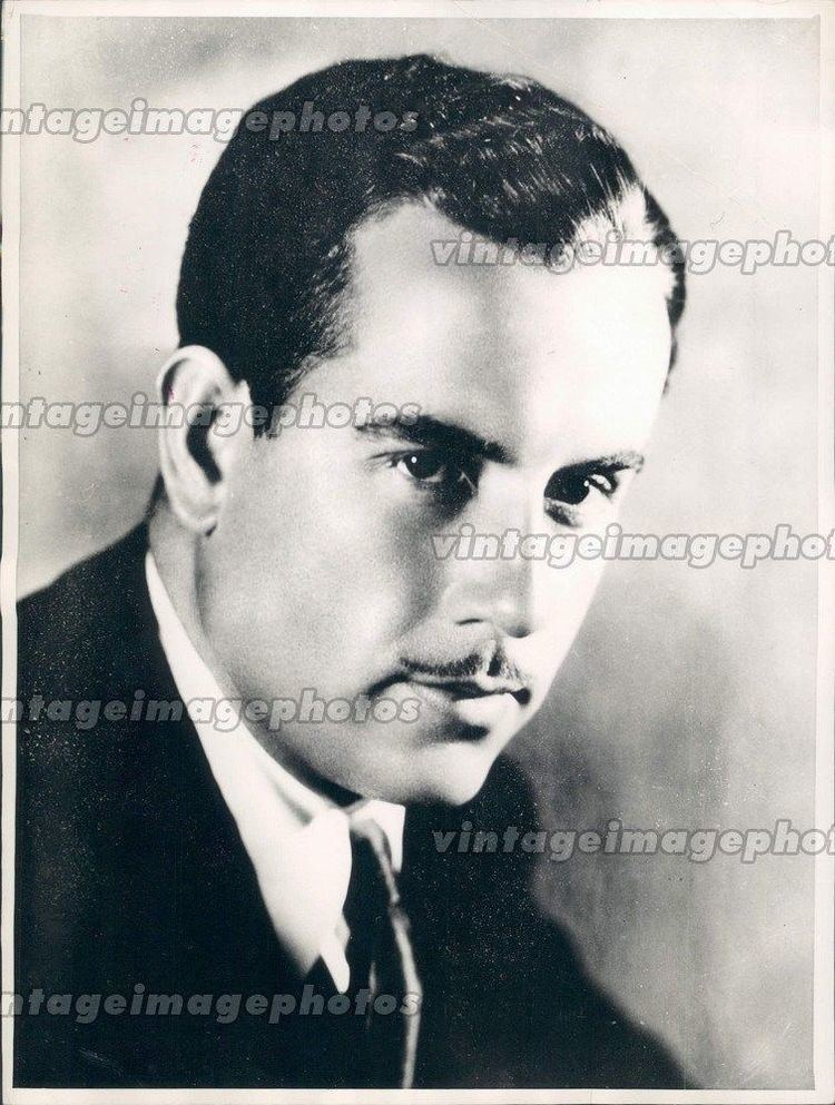 Gordon Westcott 1935 Gordon Westcott Stage Screen Actor Movies Film Portrait Star