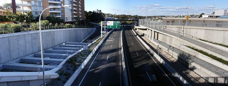 Gore Hill Freeway