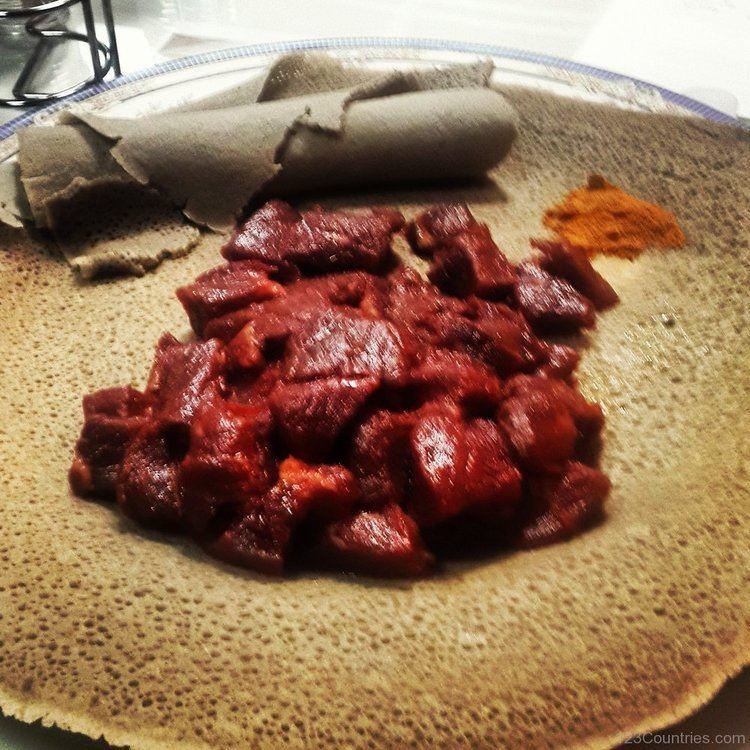 Gored gored National Dish Gored Gored Of Eritrea 123Countriescom