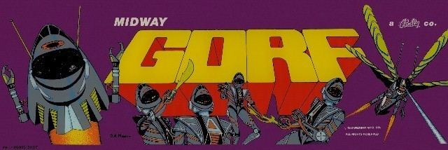 Gorf Gorf Videogame by Midway Manufacturing Co