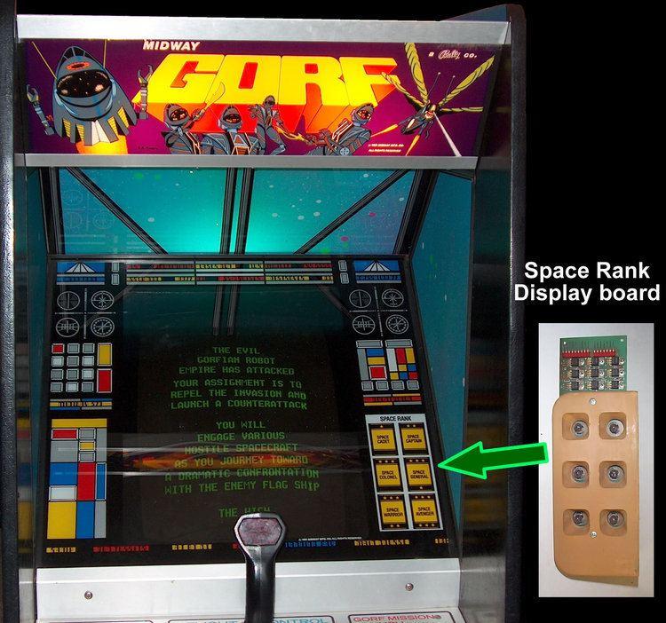 Gorf Gorf Arcade Machine