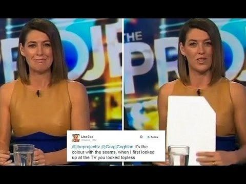 Gorgi Coghlan Peter Helliar Reads Tweets About Gorgi Coghlan Dress
