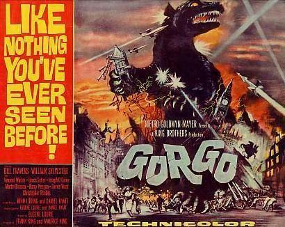 Gorgo (film) BLACK HOLE REVIEWS GORGO 1961 new restoration on DVD and Bluray