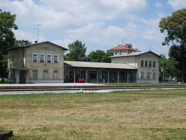 Gornja Radgona railway station