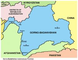 GornoBadakhshan Autonomous Region Wikipedia