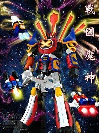 GoShogun Goshogun Mecha Robot Goshogun Pinterest