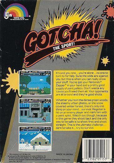 Gotcha! The Sport! Gotcha The Sport Box Shot for NES GameFAQs