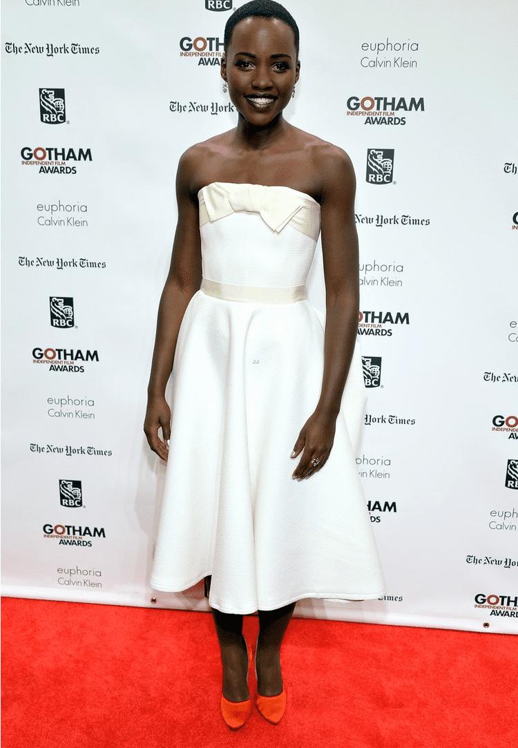 Gotham Independent Film Awards 2013 Hot or Hmm Lupita Nyong39o39s 2013 Gotham Independent Film Awards