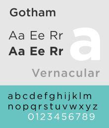 Gotham (typeface) httpsuploadwikimediaorgwikipediacommonsthu