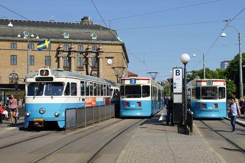 Gothenburg tram network Gothenburg Trams Gteborgs Sprvgar wwwsimplonpccouk