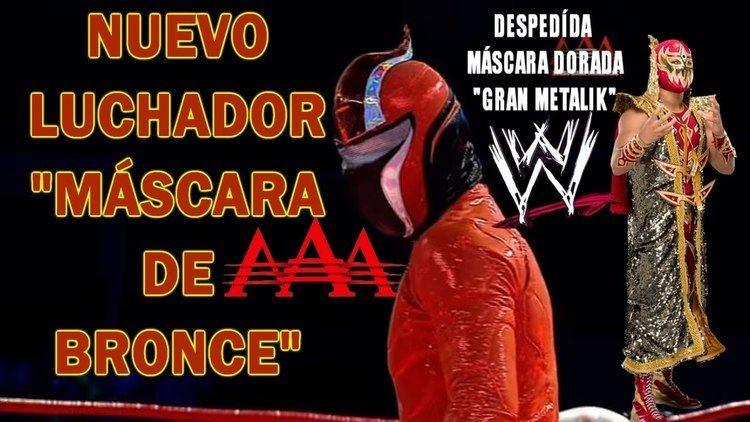 Máscara de Bronce MSCARA DE BRONCE LUCHADOR SORPRESA EN AAA YouTube