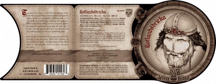 Gotlandsdricka Jester King Gotlandsdricka Ale makes US debut in October BeerPulse