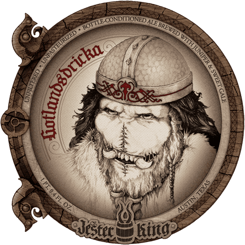 Gotlandsdricka Jester King Gotlandsdricka clone
