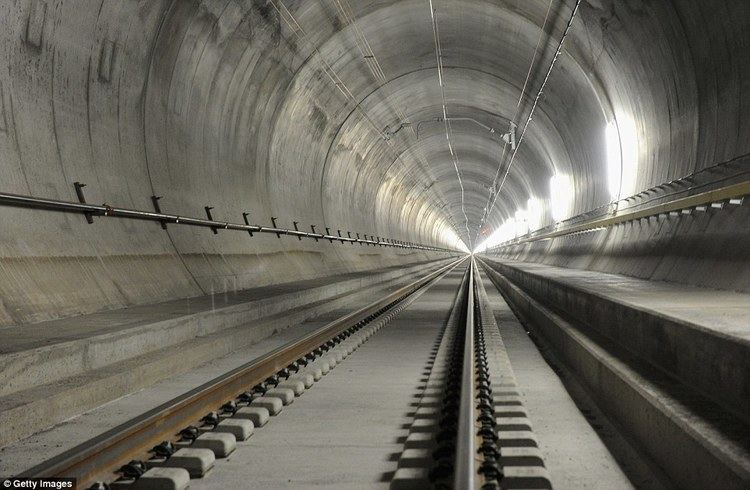 Gotthard Base Tunnel World39s longest railway tunnel in Switzerland will travel at 155mph