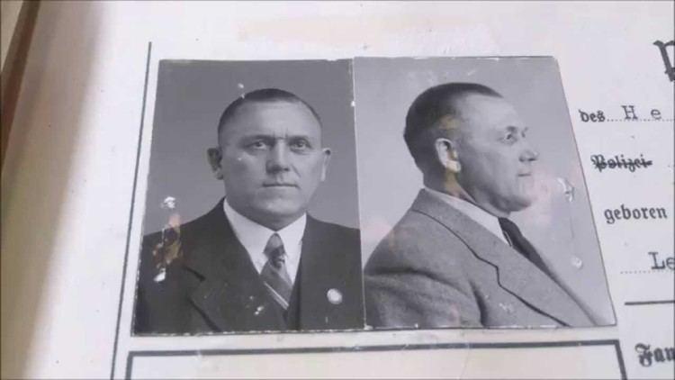 Gottlieb Hering Gottlieb Hering Belzec Commandant personnel file YouTube