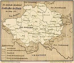 Gottschee Gottschee Wikipedia