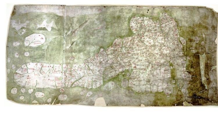 Gough Map Gough Map Facsimile Bodleian Shop