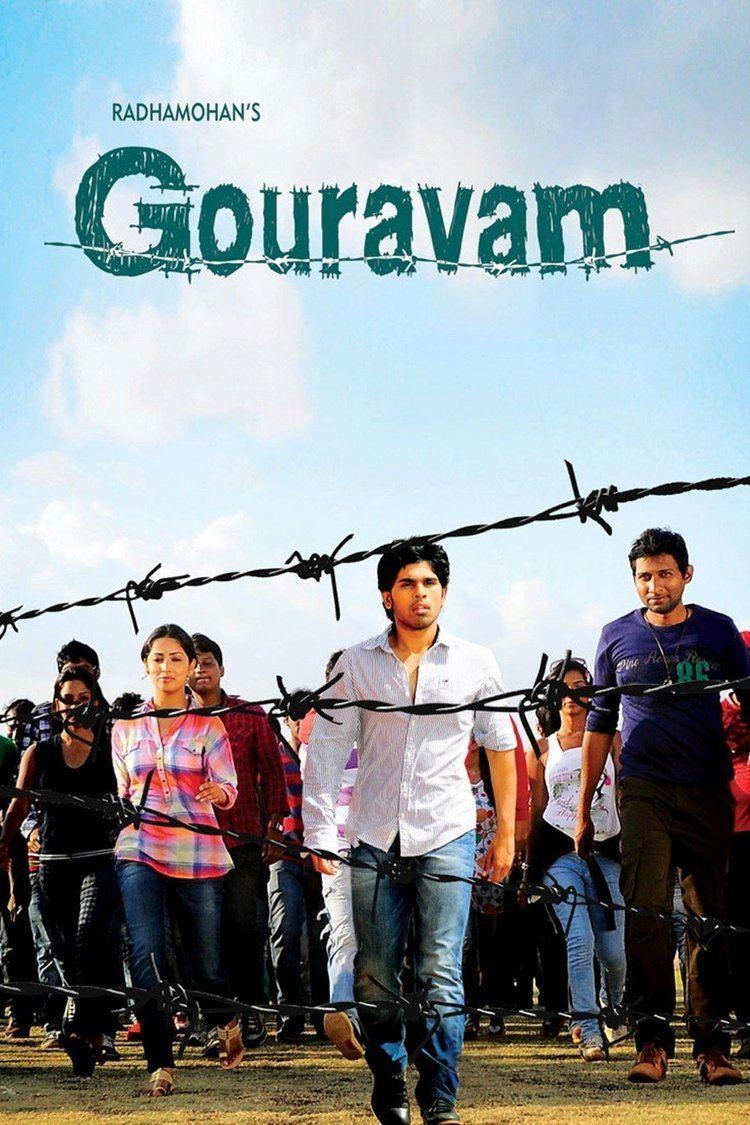 Gouravam (2013 film) wwwgstaticcomtvthumbmovieposters9921307p992