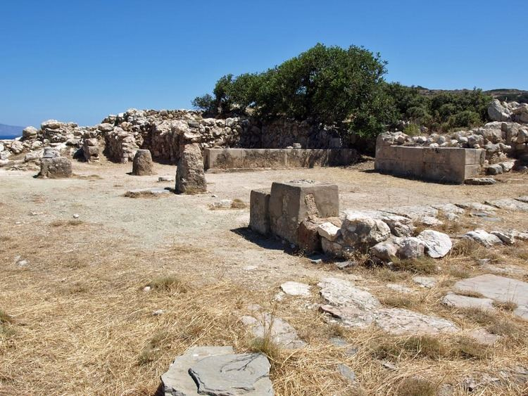 Gournia Minoan Crete The town of Gournia