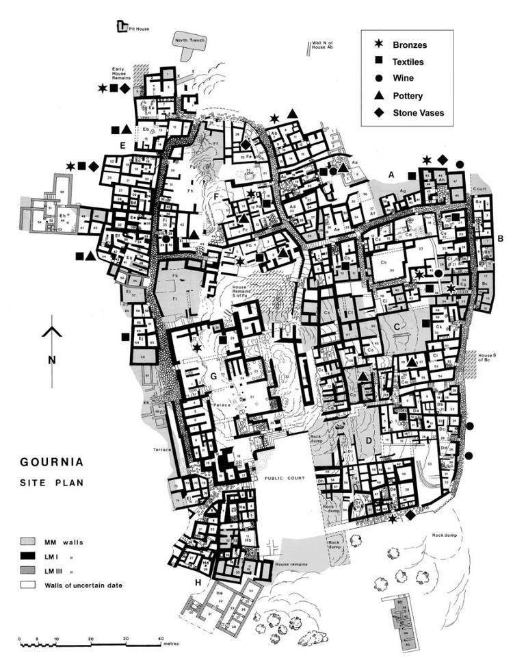 Gournia Gournia Excavation Project