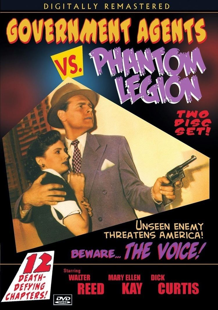 Government Agents vs. Phantom Legion Thrilling Days of Yesteryear Government Agents vs Phantom Legion