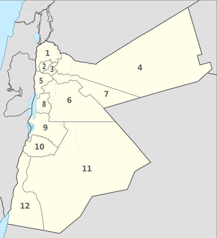 Governorates of Jordan