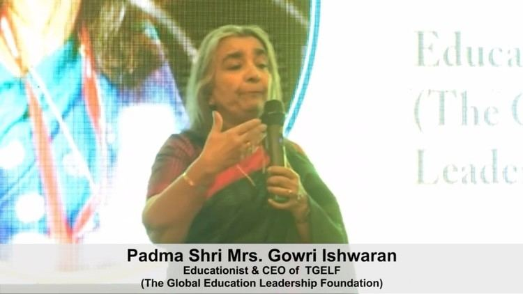 Gowri Ishwaran Padma Shri Mrs Gowri Ishwaran YouTube