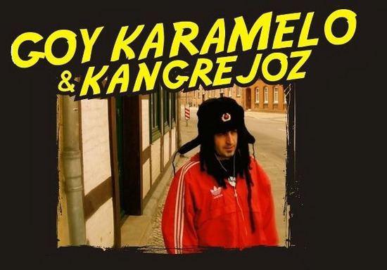 Goy Ogalde Goy Karamelo junto a la Abuela Chola Noticias de Campana La