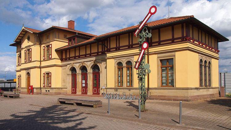 Graben-Neudorf station