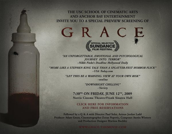 Grace (2009 film) Icons of Fright News and Updates June 2009 Archives