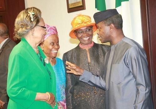 Grace Alele-Williams Osinbajo Receives Prof Alele Williams At The Villa Frontiers News