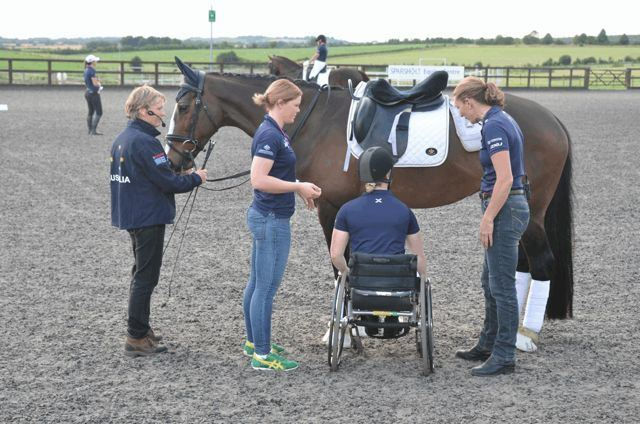 Grace Bowman (equestrian) Megan and James catch up with Paralympian Grace Bowman