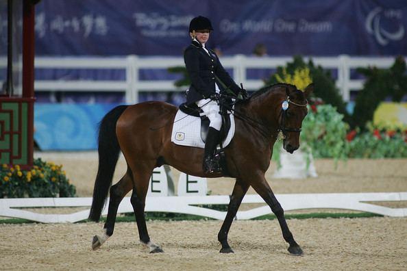 Grace Bowman (equestrian) Grace Bowman Photos Paralympics Day 1 Equestrian Zimbio