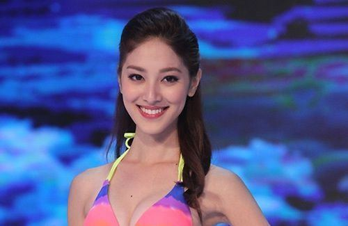 Grace Chan Crowned Miss Hong Kong Grace Chan Has a Millionaire Father