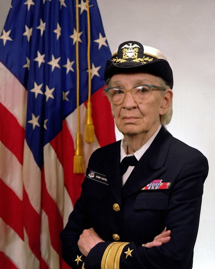Grace Hopper httpsuploadwikimediaorgwikipediacommonsthu