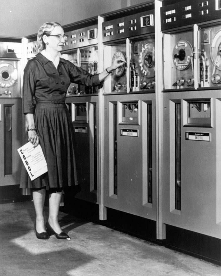 Grace Hopper Amazing Grace Hopper NaturPhilosophie