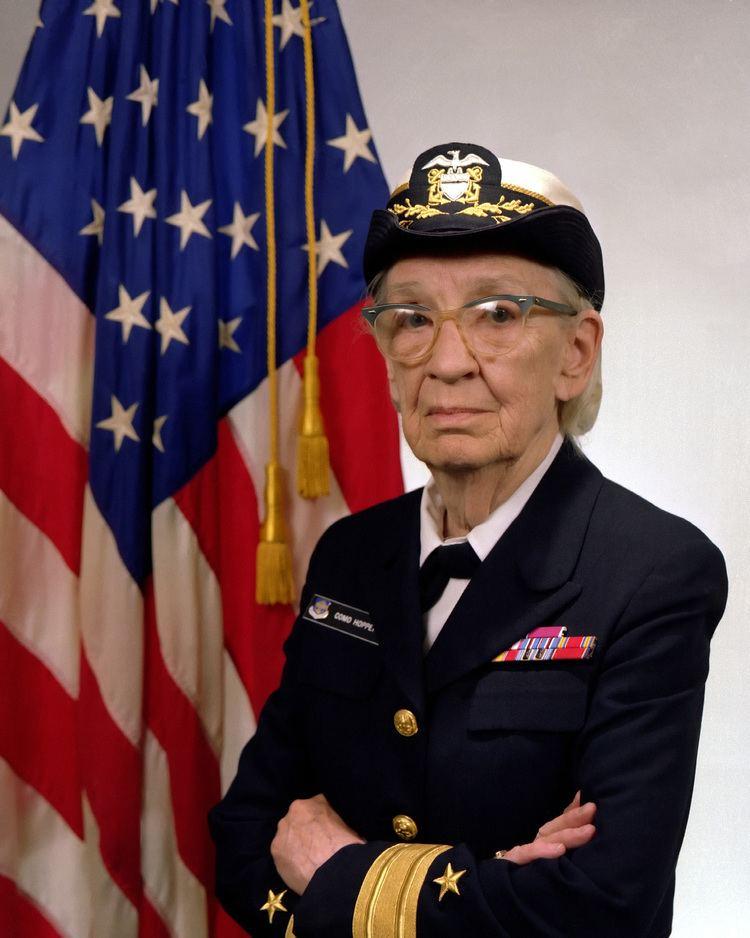 Grace Hopper Grace Hopper Wikipedia the free encyclopedia