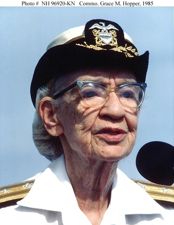 Grace Hopper Five Fast Facts About Technologist Grace Hopper Department of Energy